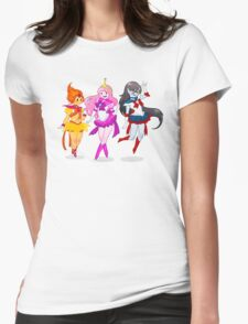 Adventure Power Make-Up! Womens Fitted T-Shirt