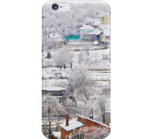 winter village panorama iPhone Case/Skin