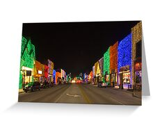Big Bright Light Show 2 Greeting Card