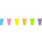 Gummi Bears by imaginarystory