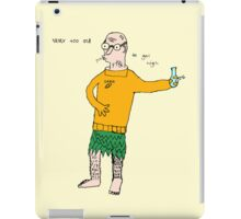 Never Too Old To Get High iPad Case/Skin