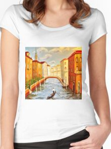 Venice Women's Fitted Scoop T-Shirt
