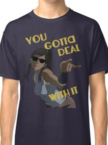 LoK - Korra Deal With It (No Outline) Classic T-Shirt