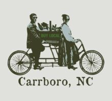 Buy Local Carrboro by One World by High Street Design