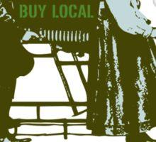 Buy Local Carrboro Sticker