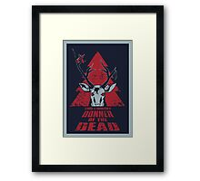 Donner of the Dead Framed Print