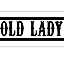 Oldlady Sticker