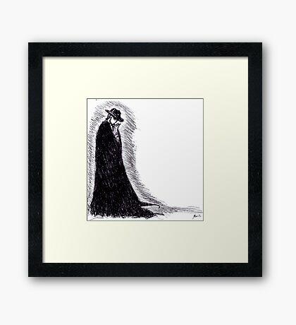 Angel of Music Framed Print