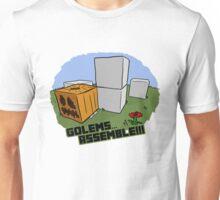 Golems Assemble (With Text) Unisex T-Shirt