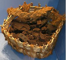 A Basket of Peat Photographic Print