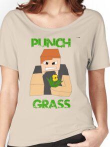 Punch Grass Women's Relaxed Fit T-Shirt