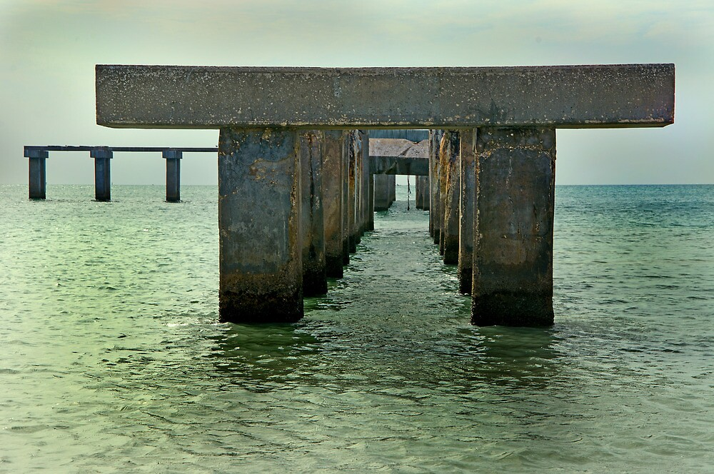 The Pylons  by John  Kapusta