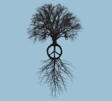 Ride on the peace tree by Rob Price
