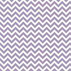 Purple Chic Chevron Pattern by superstarbing