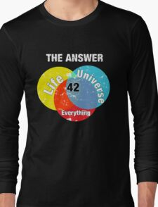 The Answer Long Sleeve T-Shirt