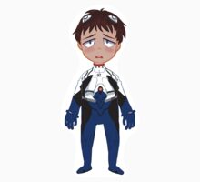 Shinji Ikari sticker by Soffie