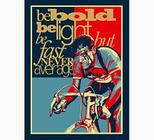 Retro Cycling Print Poster Hard as Nails  Unisex T-Shirt