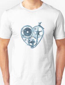 Bike Lover Heart x-ray  T-Shirt