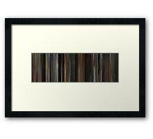 Moviebarcode: Walker Payne (2006)  Framed Print