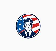 American Policeman Security Guard Retro Unisex T-Shirt