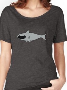 Cute Happy Shark Women's Relaxed Fit T-Shirt
