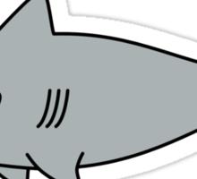 Cute Happy Shark Sticker