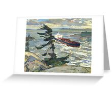 Oil Paintings : An Appropriation Project - Stormy weather Greeting Card