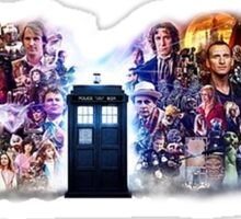 Doctor who 50th - All characters  Sticker