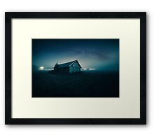 We are all lost stars, and we  trying to light up the dark! Framed Print