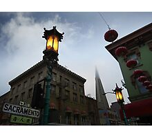That's China Town Photographic Print