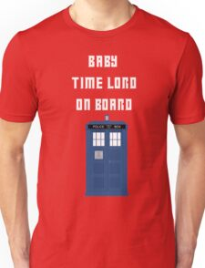 Baby Time Lord On Board Unisex T-Shirt
