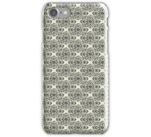 Ivory Classic Damask Pattern iPhone Case/Skin