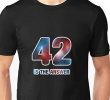 42 is the only answer Unisex T-Shirt