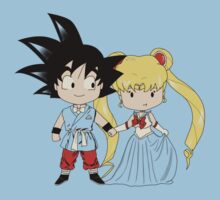 Sangoku and Sailor Wedding Kids Clothes