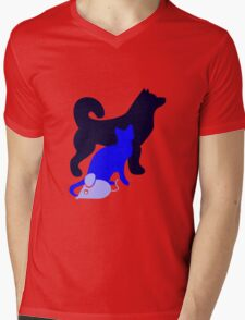 Dog Cat Mouse T-Shirt