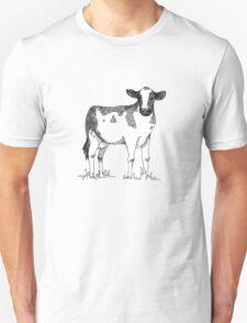 Holstein Friesian Cow Fanimal Unisex T-Shirt