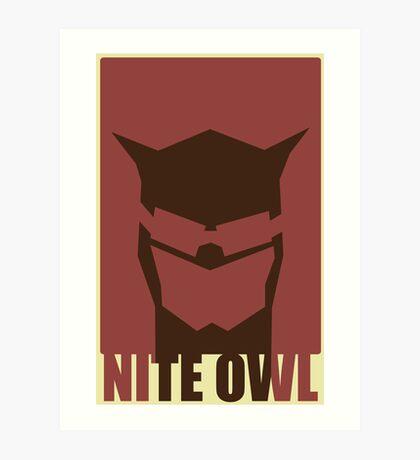 Nite Owl II Art Print