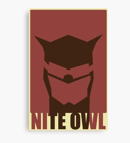 Nite Owl II Canvas Print