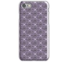 Lavender Classic Damask Pattern iPhone Case/Skin