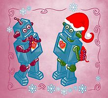 Robotic Christmas by gabrielart