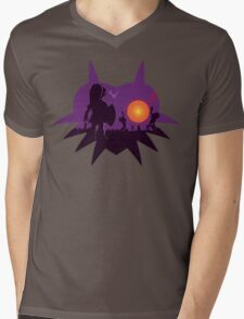 Dawn of the Final Day (Majoras Mask) Mens V-Neck T-Shirt