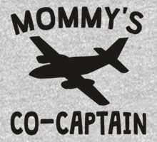 Mommy's Co-Captain Baby Tee