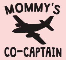Mommy's Co-Captain One Piece - Short Sleeve