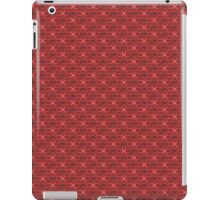 Red Classic Damask Pattern iPad Case/Skin