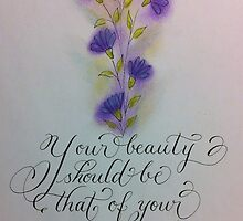 """Your Beauty""  by Melissa Goza"
