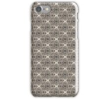 Beige Classic Damask Pattern iPhone Case/Skin