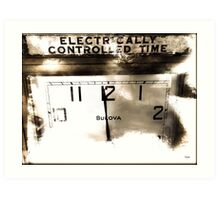 Electrically Controlled Time  Art Print