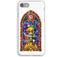 Link, Sword & Shield - Stained Glass iPhone Case/Skin