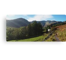Langdale Walk Canvas Print