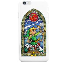 Link, Bow - Stained Glass iPhone Case/Skin